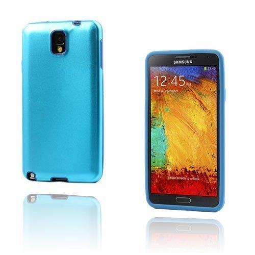 Alu Guard Samsung Galaxy Note 3 Alumiinikuori Vaaleansininen