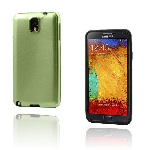 Alu Guard Samsung Galaxy Note 3 Alumiinikuori Vihreä