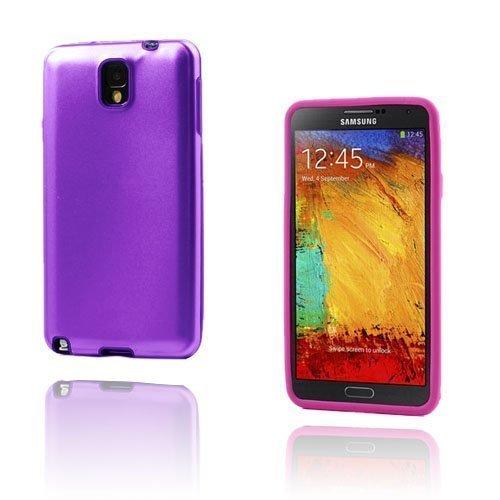 Alu Guard Samsung Galaxy Note 3 Alumiinikuori Violetti