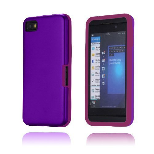 Alu Guard Violetti Blackberry Z10 Suojakuori
