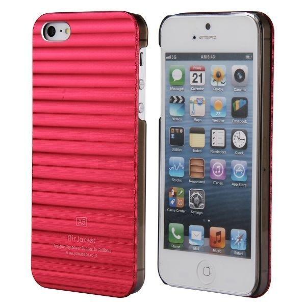 Alu Line Punainen Iphone 5 Alumiininen Suojakuori