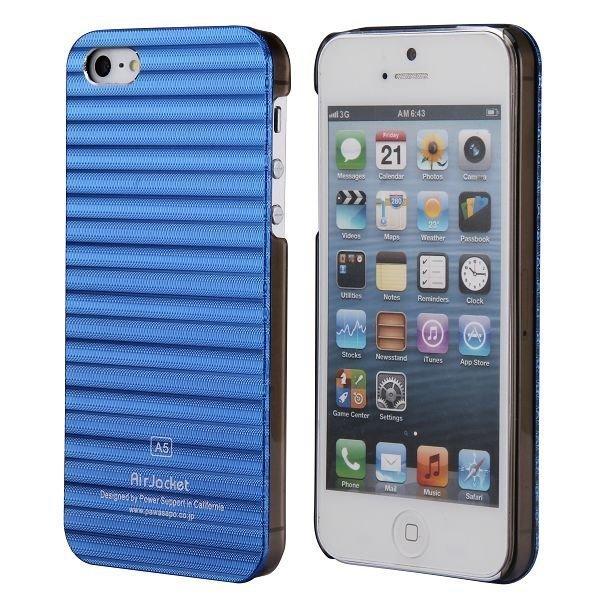 Alu Line Sininen Iphone 5 Alumiininen Suojakuori