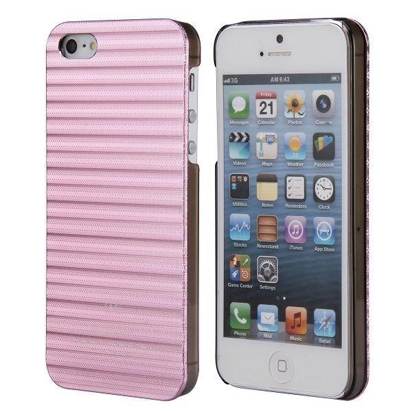 Alu Line Vaaleanpunainen Iphone 5 / 5s Alumiini Suojakuori