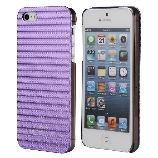 Alu Line Violetti Iphone 5 Alumiininen Suojakuori