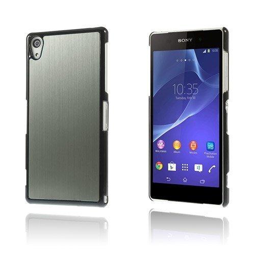 Alu Plate Harmaa Sony Xperia Z2 Suojakuori
