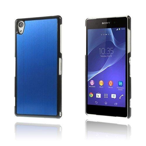 Alu Plate Sininen Sony Xperia Z2 Suojakuori