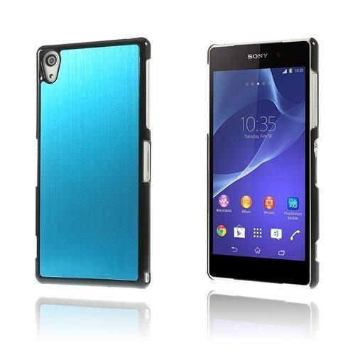 Alu Plate Vaalea Sininen Sony Xperia Z2 Suojakuori