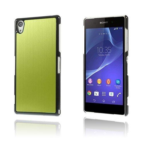 Alu Plate Vihreä Sony Xperia Z2 Suojakuori