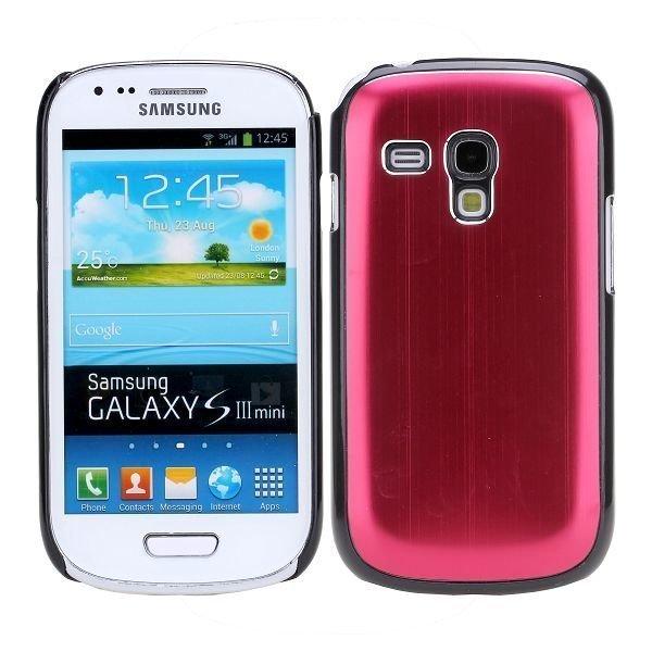 Alu Shell Punainen Samsung Galaxy S3 Mini Suojakuori