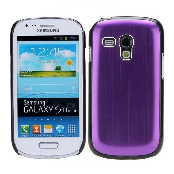 Alu Shell Violetti Samsung Galaxy S3 Mini Suojakuori
