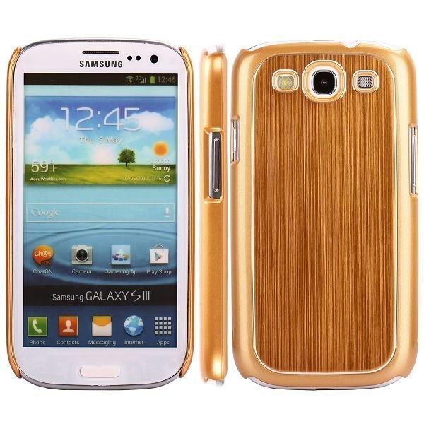 Alu Shield Keltainen Samsung Galaxy S3 Suojakuori