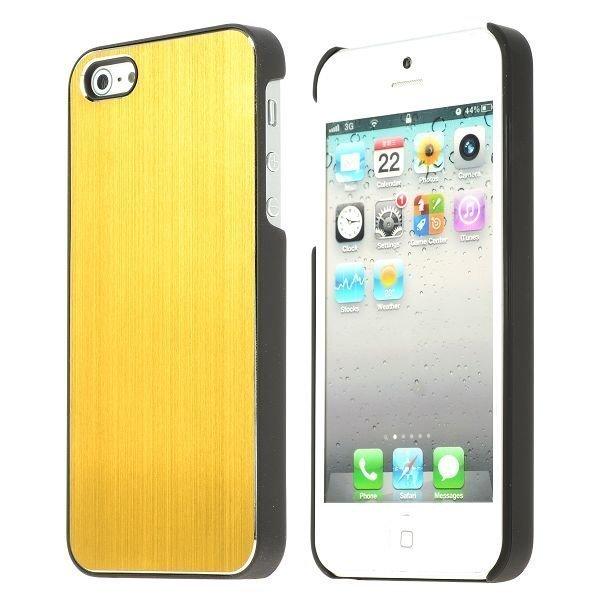 Alu Shield Kulta Iphone 5 Suojakuori