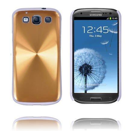Alu Shield Kulta Samsung Galaxy S3 Suojakuori