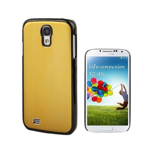 Alu Shield Kultainen Samsung Galaxy S4 Suojakuori