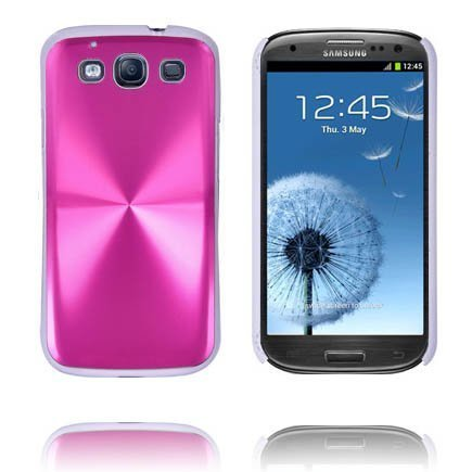 Alu Shield Kuuma Pinkki Samsung Galaxy S3 Suojakuori