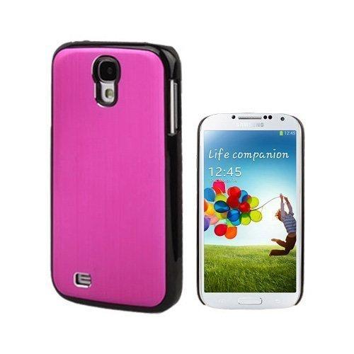 Alu Shield Kuuma Pinkki Samsung Galaxy S4 Suojakuori
