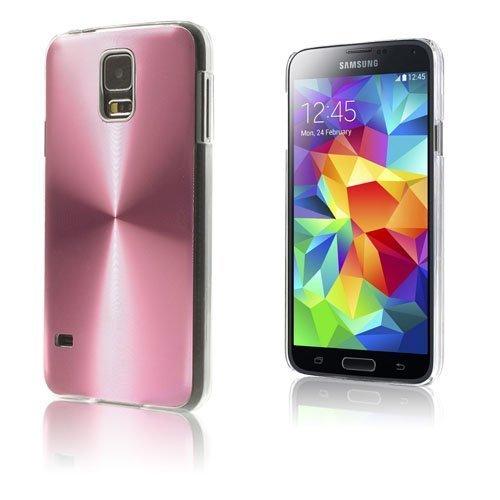 Alu Shield Pinkki Samsung Galaxy S5 Suojakuori