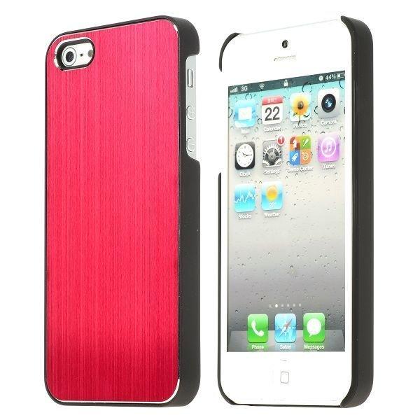 Alu Shield Punainen Iphone 5 Suojakuori
