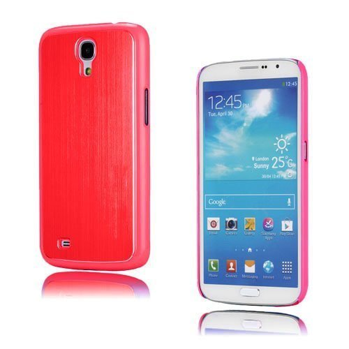 Alu Shield Punainen Samsung Galaxy Mega 6.3 Suojakuori