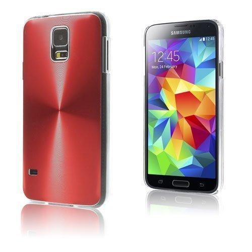 Alu Shield Punainen Samsung Galaxy S5 Suojakuori