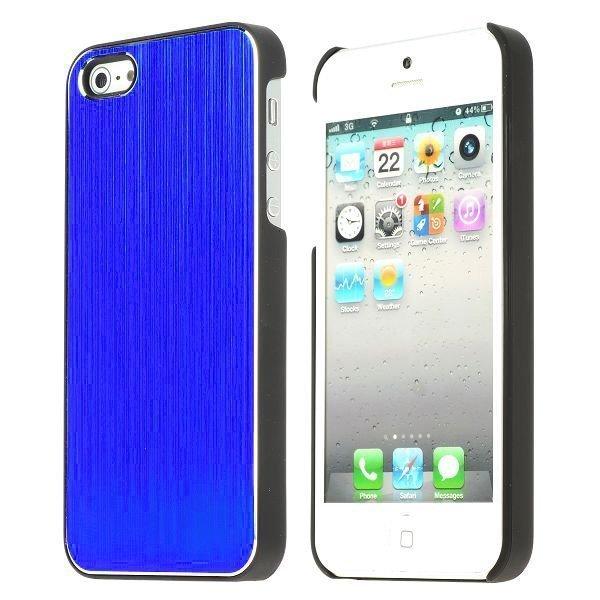 Alu Shield Sininen Iphone 5 Suojakuori