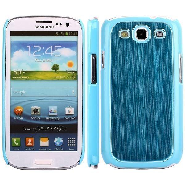 Alu Shield Sininen Samsung Galaxy S3 Suojakuori