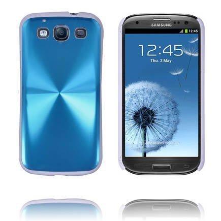 Alu Shield Vaaleansininen Samsung Galaxy S3 Suojakuori