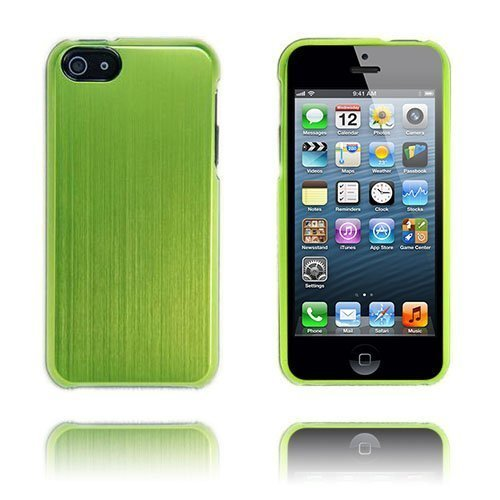 Alu Shield Vihreä Iphone 5 Suojakuori