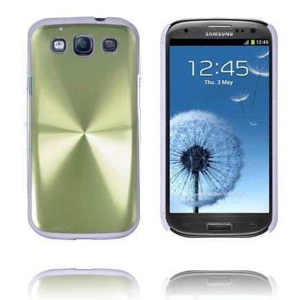 Alu Shield Vihreä Samsung Galaxy S3 Suojakuori