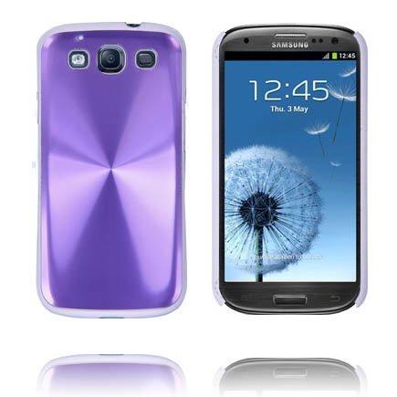 Alu Shield Violetti Samsung Galaxy S3 Suojakuori