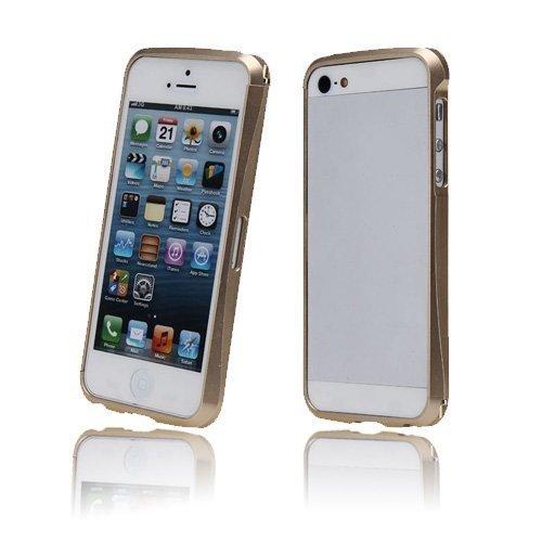 Alucurve Kultainen Iphone 5 Alumiininen Bumper Suojakehys