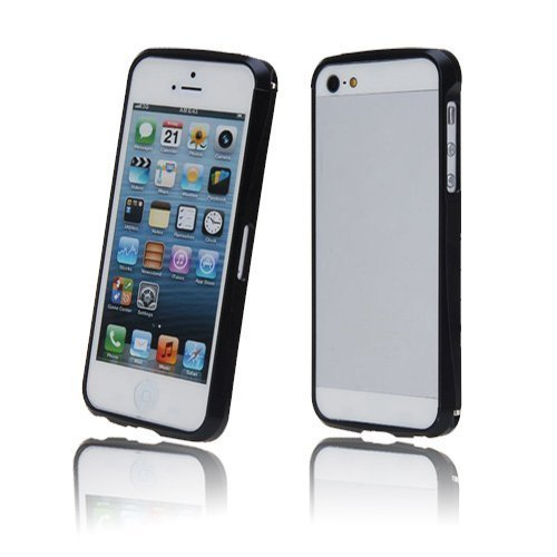 Alucurve Musta Iphone 5 Alumiininen Bumper Suojakehys