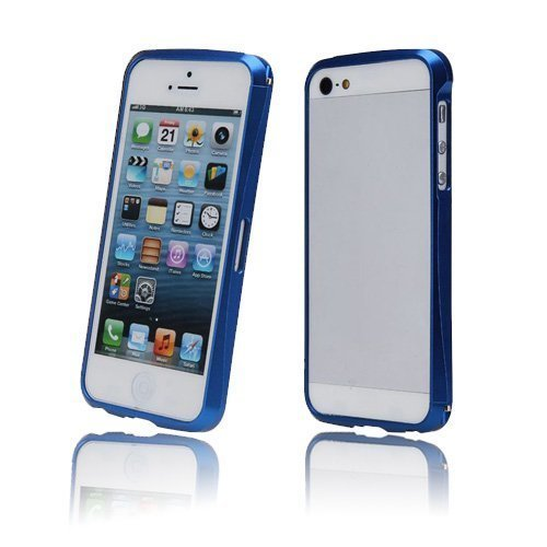 Alucurve Sininen Iphone 5 Alumiininen Bumper Suojakehys