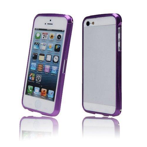 Alucurve Violetti Iphone 5 Alumiininen Bumper Suojakehys