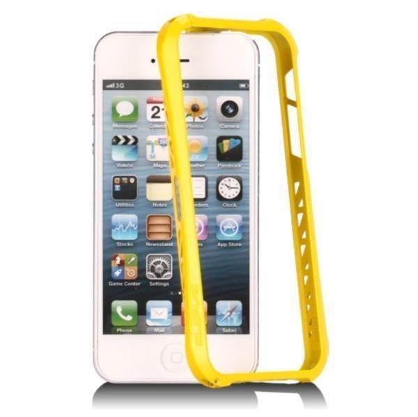 Aluframe Keltainen Iphone 5 Alumiininen Suojakehys