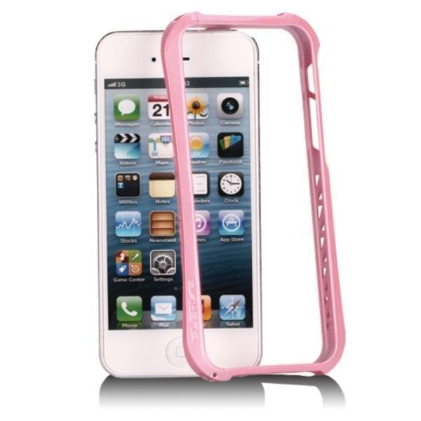 Aluframe Pinkki Iphone 5 / 5s Alumiini Bumper