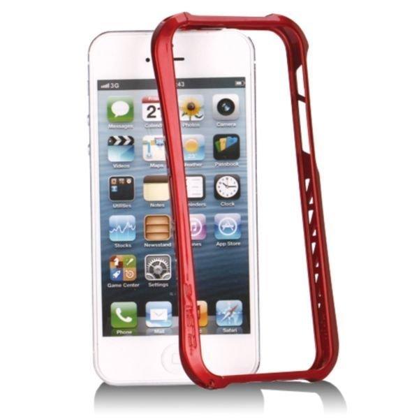 Aluframe Punainen Iphone 5 Alumiininen Suojakehys