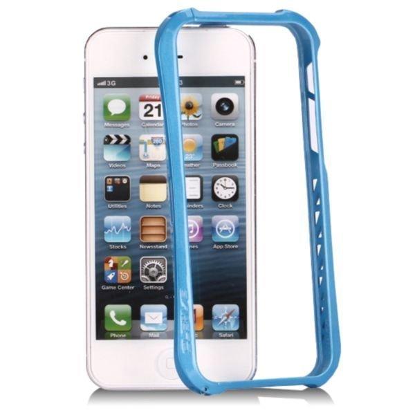 Aluframe Sininen Iphone 5 Alumiininen Suojakehys
