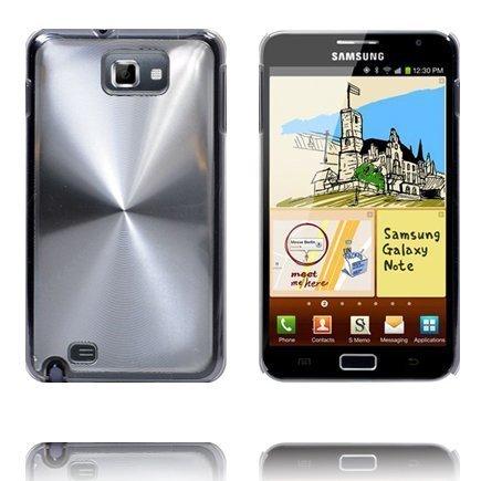 Alumiini Suojus Hopea Samsung Galaxy Note Suojakuori