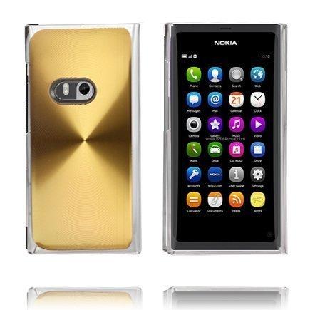 Alumiini Suojus Kulta Nokia N9 Suojakuori
