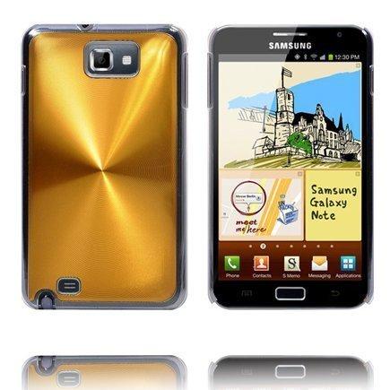 Alumiini Suojus Kulta Samsung Galaxy Note Suojakuori