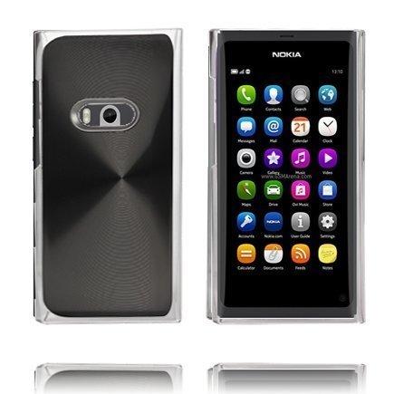 Alumiini Suojus Musta Nokia N9 Suojakuori