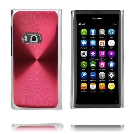 Alumiini Suojus Punainen Nokia N9 Suojakuori