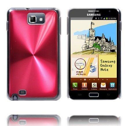 Alumiini Suojus Punainen Samsung Galaxy Note Suojakuori