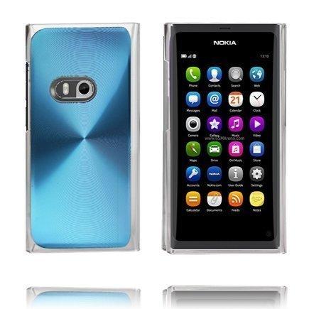 Alumiini Suojus Vaaleansininen Nokia N9 Suojakuori