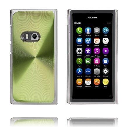 Alumiini Suojus Vihreä Nokia N9 Suojakuori