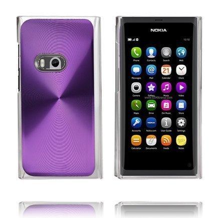 Alumiini Suojus Violetti Nokia N9 Suojakuori