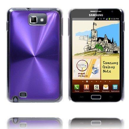 Alumiini Suojus Violetti Samsung Galaxy Note Suojakuori
