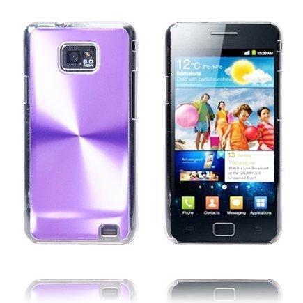 Alumiini Suojus Violetti Samsung Galaxy S2 Suojakuori