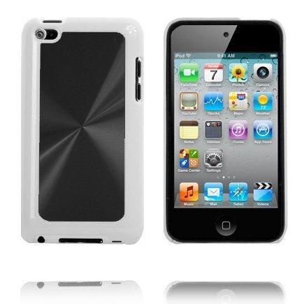 Alumiininen Glare Musta Ipod Touch 4 Suojakuori